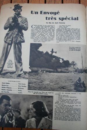 Clark Gable Myrna Loy Walter Pidgeon