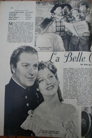 Jeanette MacDonald Nelson Eddy Walter Pidgeon