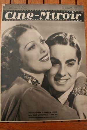 Tyrone Power Loretta Young