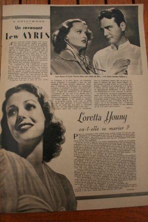 Loretta Young Lew Ayres
