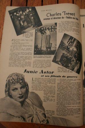 Charles Trenet Junie Astor