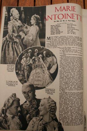 Norma Shearer Tyrone Power John Barrymore