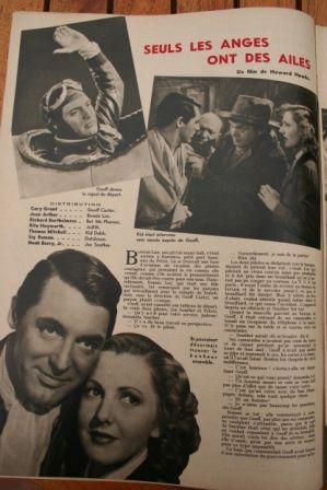 Jean Arthur Cary Grant Rita Hayworth