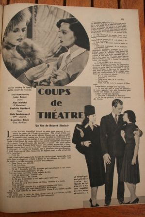 Lana Turner Luise Rainer Paulette Goddard