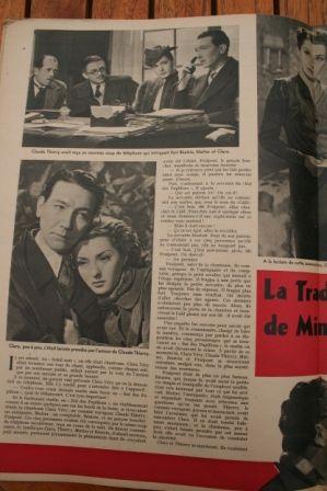 Viviane Romance Marcel Dalio Georges Flamant
