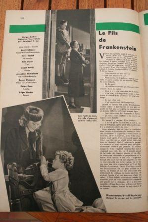 Boris Karloff Bela Lugosi Son of Frankenstein