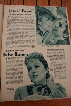 Tyrone Power Luise Rainer