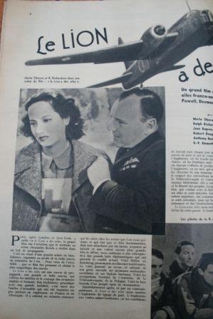 Merle Oberon Ralph Richardson June Duprez