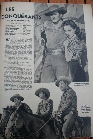 Errol Flynn Olivia de Havilland Ann Sheridan