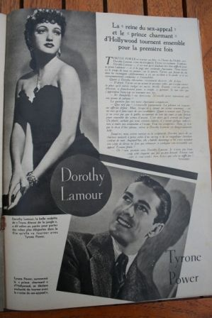 Dorothy Lamour Tyrone Power