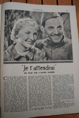 Jean Pierre Aumont Corinne Luchaire