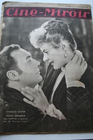Charles Boyer Ingrid Bergman