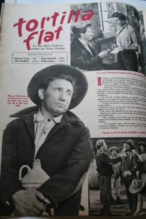 Spencer Tracy Hedy Lamarr John Garfield