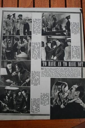 Lauren Bacall Humphrey Bogart To Have Or To Have N