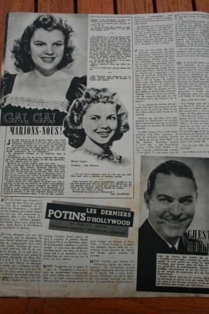 Shirley Temple Judy Garland