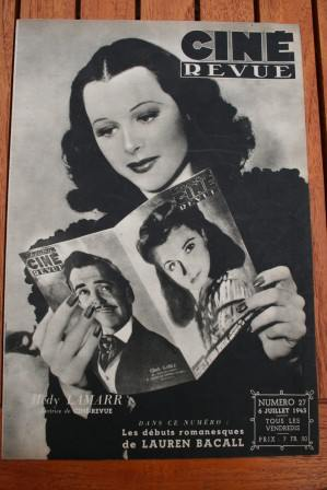 Hedy Lamarr - Vivien Leigh