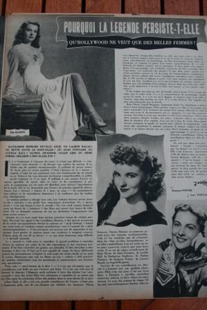 Ella Raines Suzanna Foster Joan Fontaine