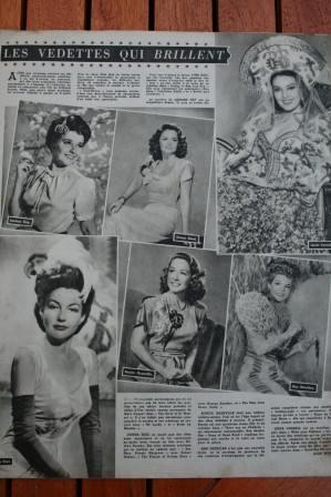 Laraine Day Donna Reed Linda Darnell Ann Sheridan