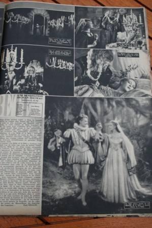 Jean Marais Josette Day Beauty And The Beast