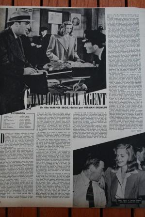 Charles Boyer Lauren Bacall