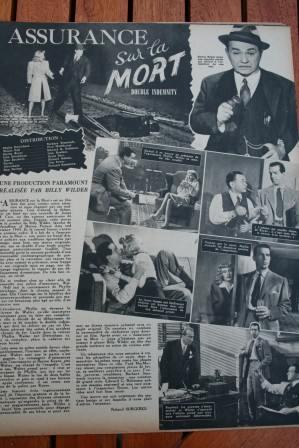 Barbara Stanwyck Fred Mac Murray Edward G Robinson