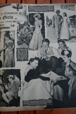 Judy Garland John Hodiak Cyd Charisse Harvey Girls