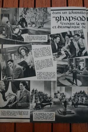 Robert Alda Joan Leslie Rhapsody In Blue