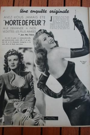 Rita Hayworth Maureen O'hara