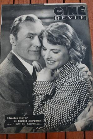 Ingrid Bergman Charles Boyer