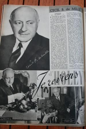 Cecil B De Mille