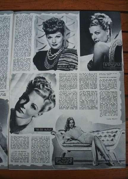 Lucille Ball Ann Sheridan Vivian Blaine