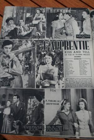 Shirley Temple Jerome Cortland Kiss And Tell