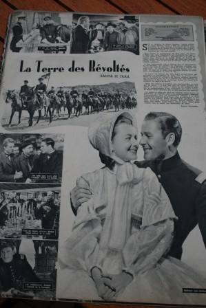 Errol Flynn Olivia De Havilland Santa Fe Trail
