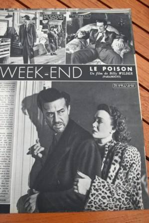 Ray Milland Jane Wyman The Lost Week End