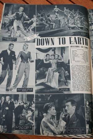 Rita Hayworth Larry Parks Down To Earth