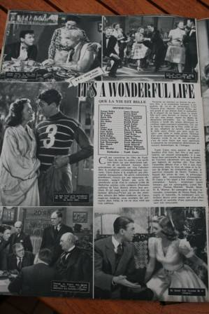 James Stewart Donna Reed It's A Wonderful Life