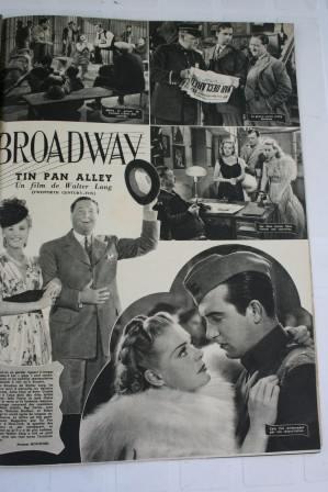 Alice Faye Betty Grable John Payne Tin Pan Alley