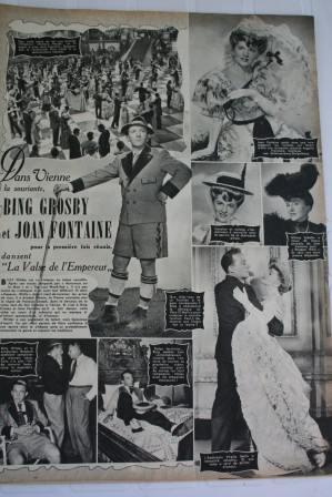 Bing Crosby Joan Fontaine