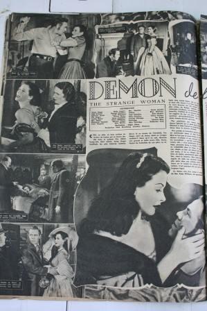 Hedy Lamarr George Sanders