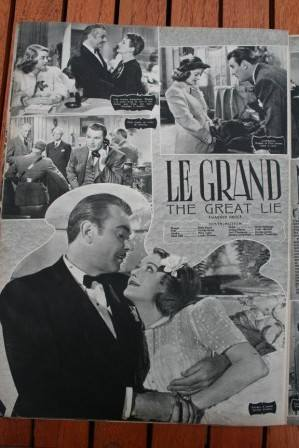 Bette Davis George Brent The Great Lie
