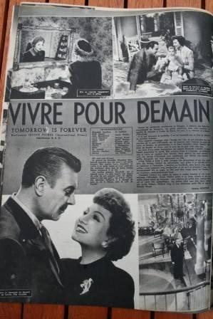 Orson Welles Claudette Colbert