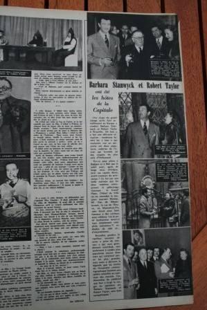 Robert Taylor Barbara Stanwyck