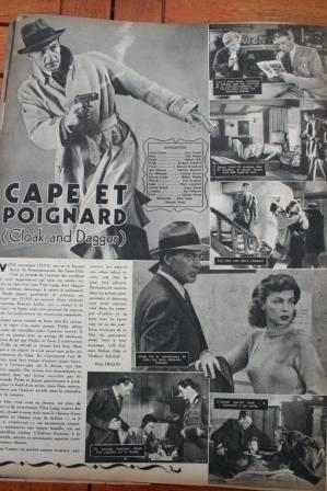 Gary Cooper Lilli Palmer Cloak And Dagger