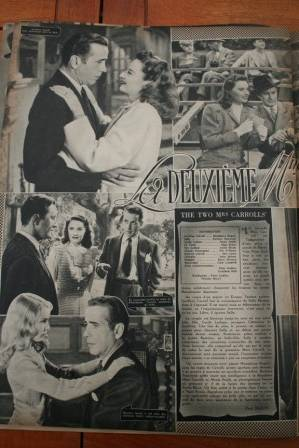 Humphrey Bogart Barbara Stanwyck Alexis Smith