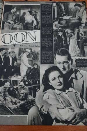 John Wayne Laraine Day Judith ANderson Tycoon