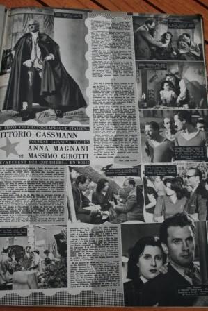 Anna Magnani Massimo Girotti Vittorio Gassman