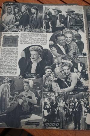 Betty Hutton Arturo De Cordova Incendiary Blonde