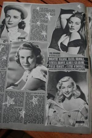 Dorothy Malone Hazel Brooks Gloria Grahame