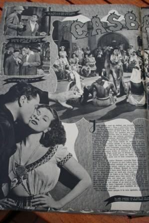 Yvonne De Carlo Tony Martin Peter Lorre Casbah