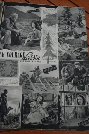 Lassie Liz Taylor Frank Morgan Tom Drake